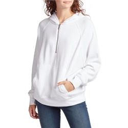 Z Supply The Half-Zip Pullover Hoodie - Women's