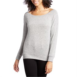 Z Supply The Marled Off-Shoulder Pullover - Women's