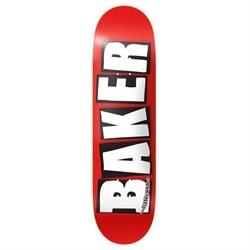 Baker Brand Logo White 8.25 Skateboard Deck