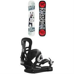 Rossignol Retox Snowboard + Union T-100 Snowboard Bindings