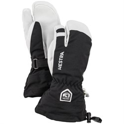 Hestra Army Leather Heli Ski Jr. 3-Finger Mittens - Big Kids'