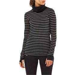 MONS ROYALE Cornice Rollover Long-Sleeve Top - Women's