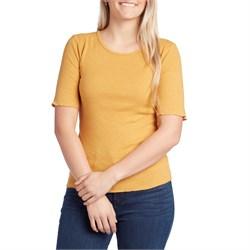 Mollusk Hemp Rib T-Shirt - Women's