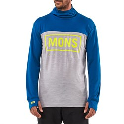 MONS ROYALE Yotei Powder Hood Long-Sleeve Top