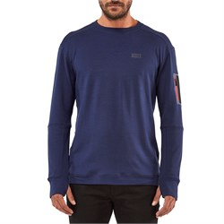 MONS ROYALE The Harkin Jersey Crew Top