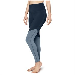 Beyond Yoga Plush Angled High Waisted Midi Leggings - Women's