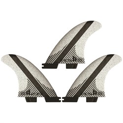 FCS II FW PC Carbon Medium Tri Fin Set