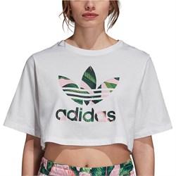 Adidas Crop T-Shirt - Women's