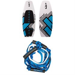 Idol Surf Shovel Wakesurf Board + Ronix Braided Surf Rope 2018