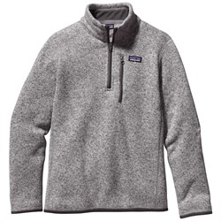 Patagonia Better Sweater 1/4 Zip Pullover - Big Boys'