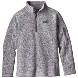 Patagonia Better Sweater 1​/4 Zip Pullover - Big Girls'
