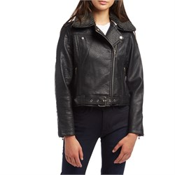 Obey Clothing Joey Vegan Moto Jacket - Women's - Used