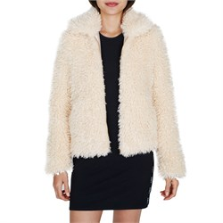 Obey Clothing Shay Fur Bomber Jacket - Women's