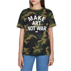 Obey Clothing Make Art Not War T-Shirt - Women's