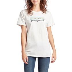Patagonia Pastel P-6 Logo Cotton Crew T-Shirt - Women's
