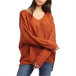 Lost ​+ Wander Burnt Heart Sweater - Women's