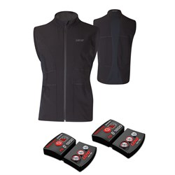 Lenz Heat Vest ​+ Set of rcB 1800 Lithium Battery Packs