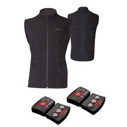Lenz Heat Vest + Set of rcB 1800 Lithium Battery Packs