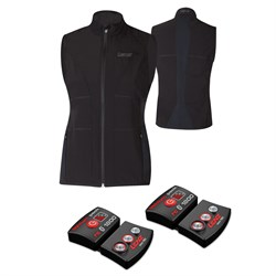 Lenz Heat Vest ​+ Set of rcB 1800 Lithium Battery Packs - Women's