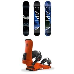 CAPiTA NEO Slasher Splitboard 2018 + Union Expedition Snowboard Bindings 2018