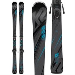 K2 Luv Machine 74 Skis + ER3 10 Compact Bindings - Women's 2019