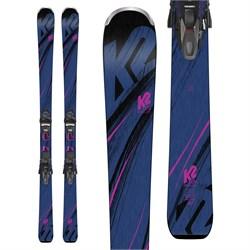 K2 Endless Luv Skis + ER3 10 TCx Light Bindings - Women's 2019