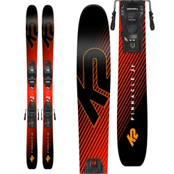 K2 Pinnacle Jr Skis ​+ Marker FDT 7.0 Bindings - Boys' 2019