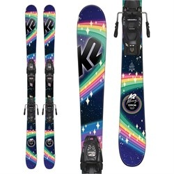 K2 Missy Skis + Marker FDT 4.5 Bindings - Little Girls' 2019 - Used