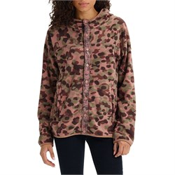 Burton Hearth Fleece Snap-Up Hoodie - Women's