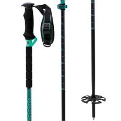 K2 Lockjaw Carbon Adjustable Ski Poles 2020