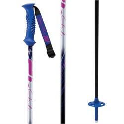 K2 Style Composite Womens Ski Poles Yellow