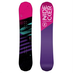 Nidecker Flake Snowboard - Girls'