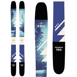 RMU Valhalla 104 Skis - Women's 2019