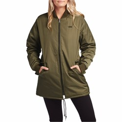 1c6740fd5c11 Women s Green Vans Jackets