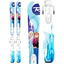 Rossignol Frozen Skis ​+ Kid-X 4 Bindings - Little Girls' 2019