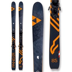 Fischer Ranger 85 Skis ​+ MBS 11 GW Powerrail Bindings