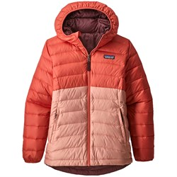 Patagonia Reversible Down Sweater Hoodie - Girls'