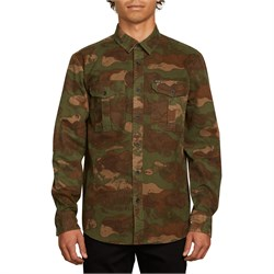 Volcom Huckster Long-Sleeve Button Down Shirt
