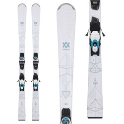 Volkl Flair 76 Skis ​+ vMotion1 10 GW Bindings - Women's