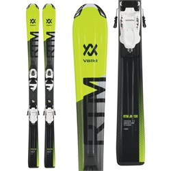 Volkl RTM Jr Skis ​+ 4.5 vMotion Jr Bindings - Little Boys' 2019