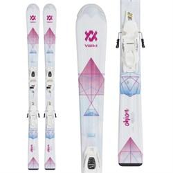 Volkl Chica Skis + 7.0 vMotion Jr Bindings - Girls'