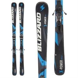 Blizzard X-Power 770 Ti IQ Skis + IQ-TP10 CM2 Bindings  - Used