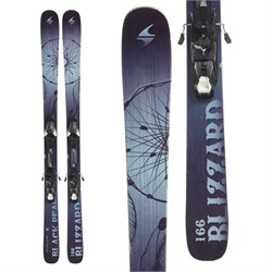Blizzard Black Pearl SP Skis + NR Lithium 10 Bindings - Women's  - Used