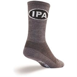 SockGuy IPA Wool Crew Bike Socks