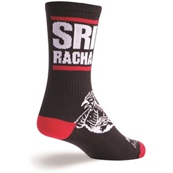 SockGuy Sriracha Crew Bike Sock