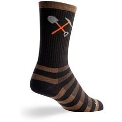 SockGuy Trail Work Wool Crew Bike Socks