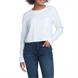 Richer Poorer Cropped Long-Sleeve T-Shirt - Women's