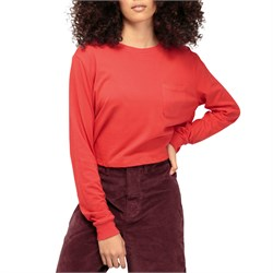 Richer Poorer Cropped Long-Sleeve T-Shirt - Women's