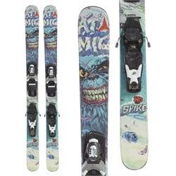 Atomic Spike Jr. Skis + Look T4 Bindings - Boys'  - Used