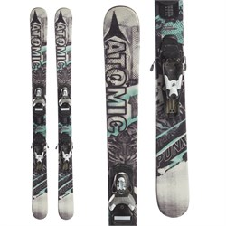 Atomic Punx Jr II Skis ​+ Look Team 4 Bindings - Little Boys'  - Used
